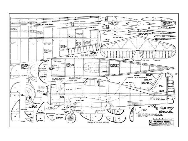 Grumman Hellcat - 10624