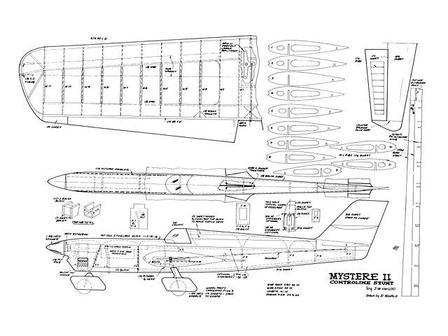 Mystere II - plan thumbnail image