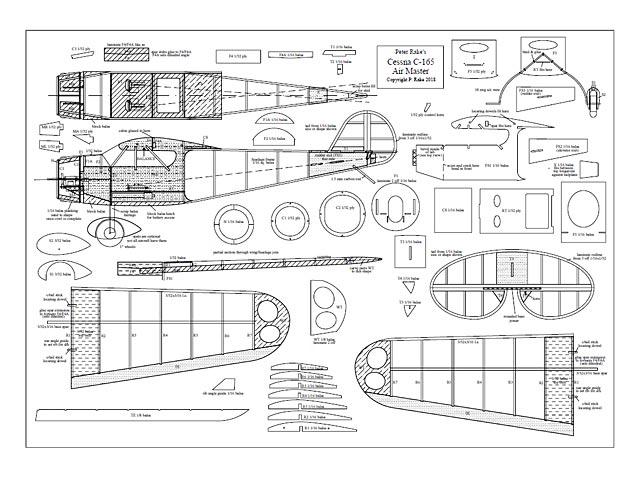 Cessna C-165 Airmaster - plan thumbnail image