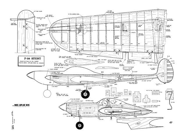 P-38 Stunt - plan thumbnail image