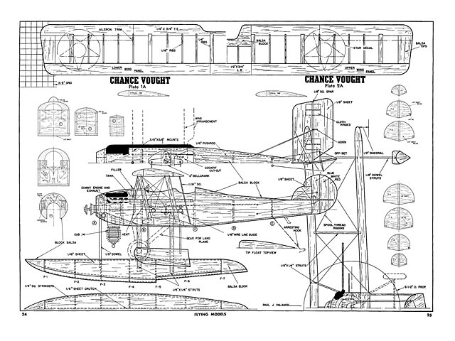 Chance Vought VE-9 - plan thumbnail image