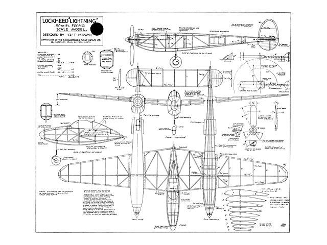 Lockheed Lightning - 10705