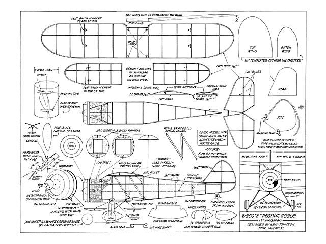Waco E  - 10724