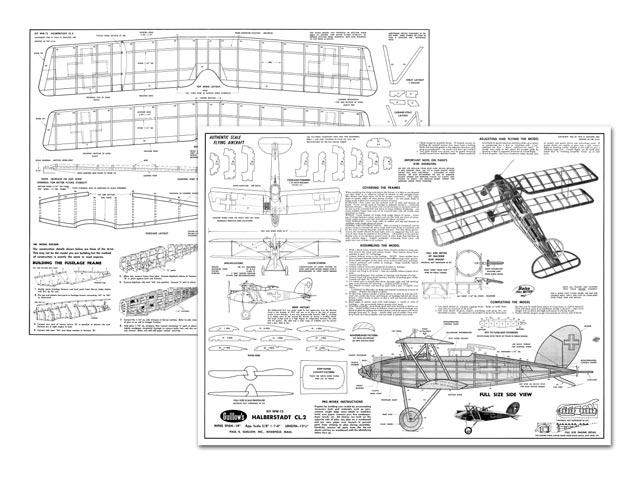 Halberstadt CL2 - plan thumbnail image