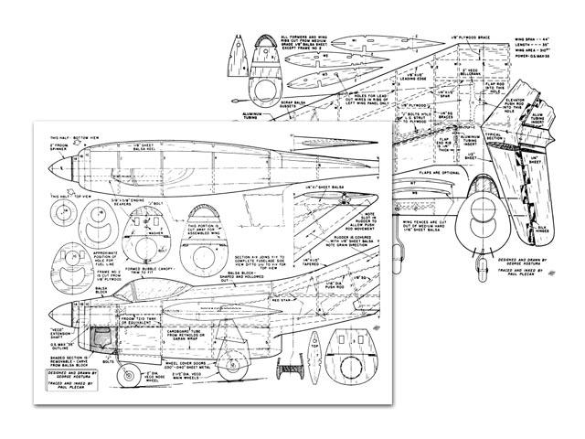 Yak-25 - plan thumbnail image