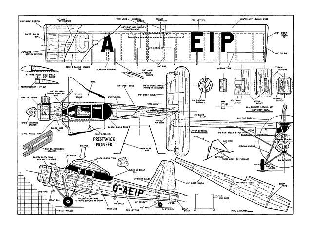 Prestwick Pioneer II - plan thumbnail image