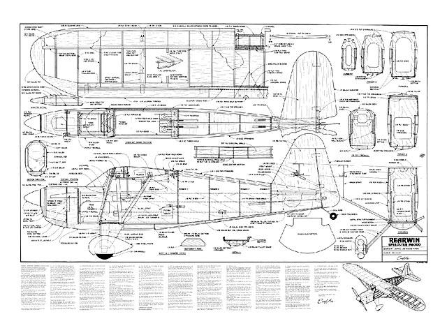 Rearwin Speedster M6000 - plan thumbnail image