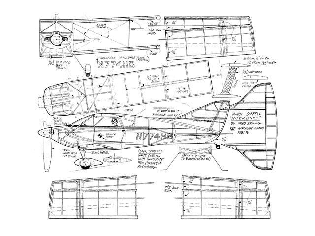 Sorrell SNS-7 Hiperbipe - plan thumbnail image