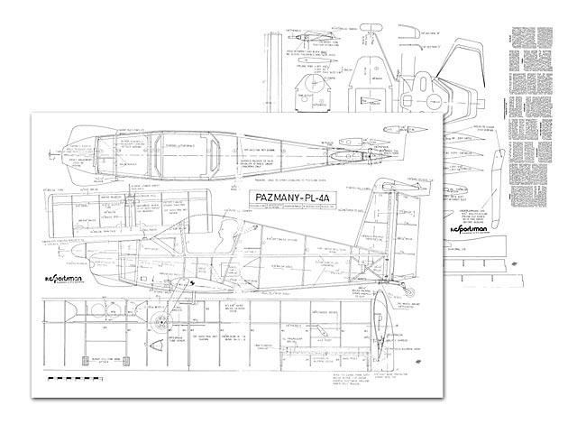 Pazmany PL-4A (oz10765) by R Woodcock, A Stinson from RC Sportsman