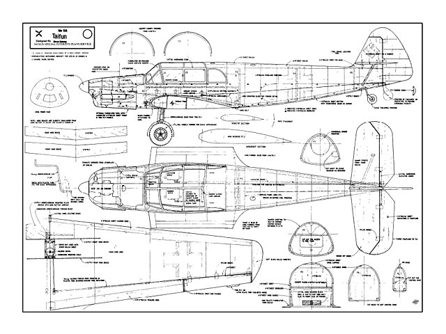 Me 108 Taifun - plan thumbnail image