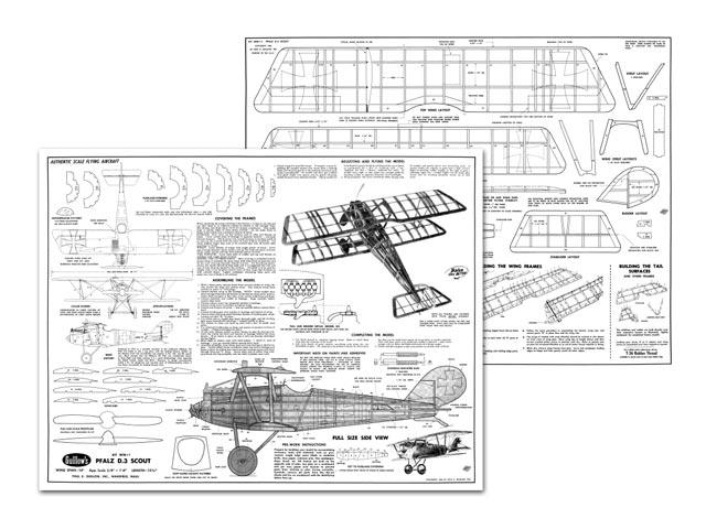 Pfalz D.3 Scout - plan thumbnail image