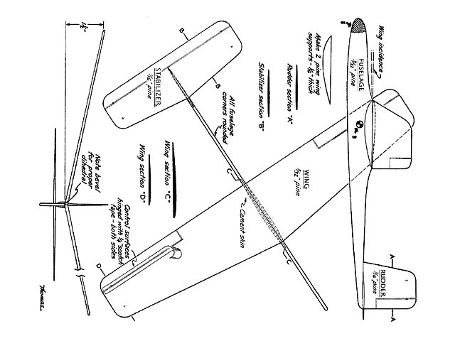 Air Youth Glider No.1 - plan thumbnail image