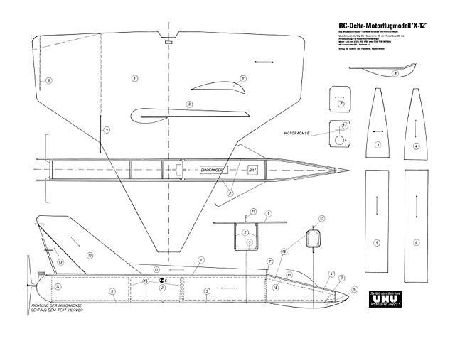 X-12 Delta - plan thumbnail image