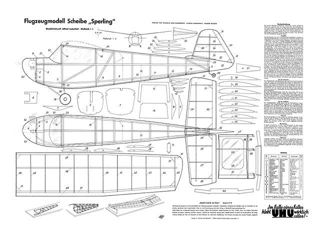Scheibe Sperling - plan thumbnail image