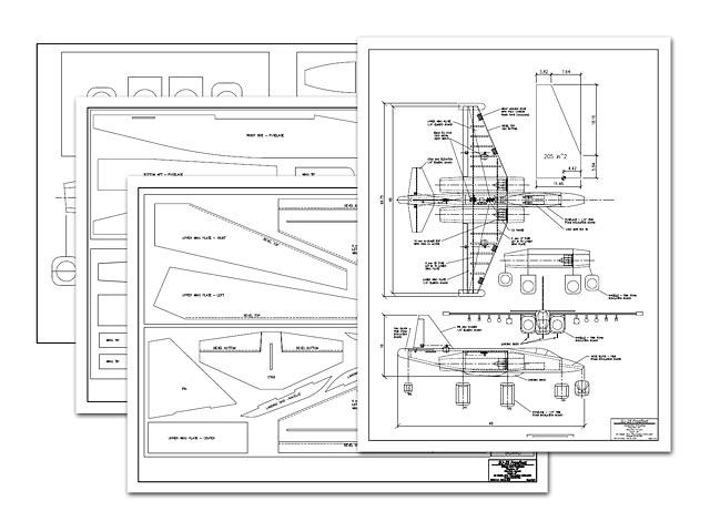 Su-25 Frogfoot - plan thumbnail image