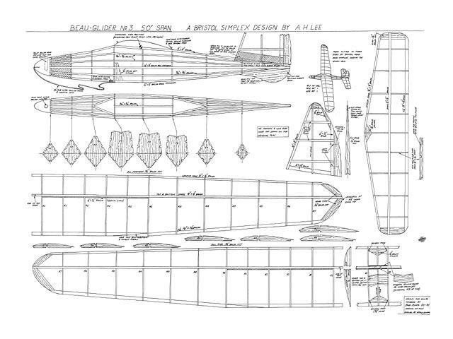 Beau Glider No3 - 10843