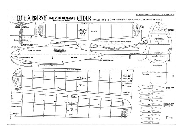 Airborne Glider - plan thumbnail image