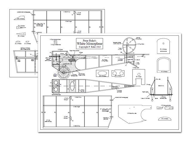 White Monoplane - plan thumbnail image