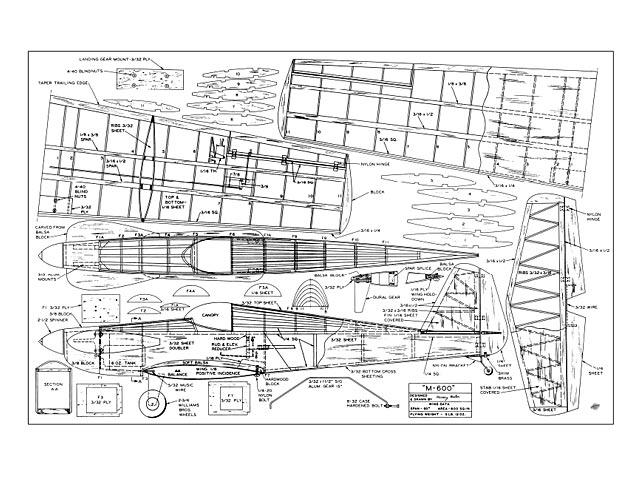 M-600 - plan thumbnail image