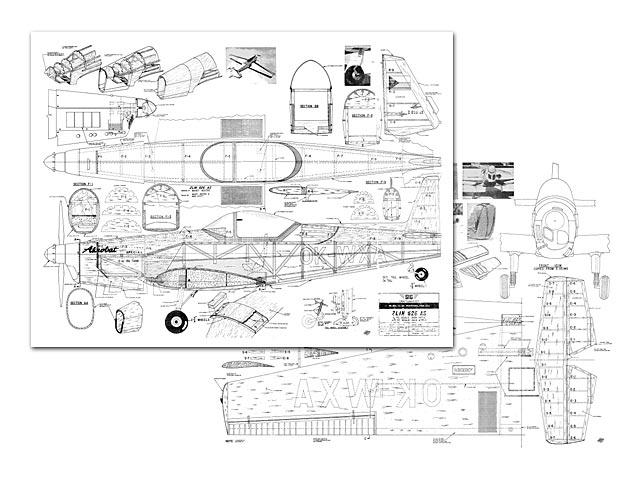 Zlin Akrobat - plan thumbnail image
