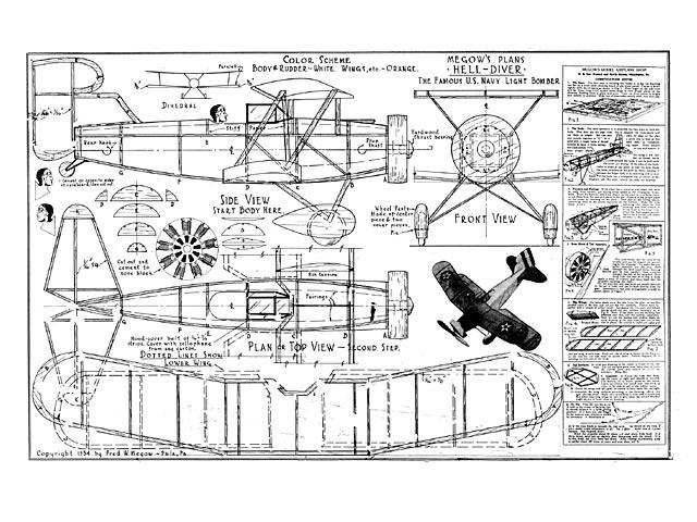 Curtiss Helldiver - 10916
