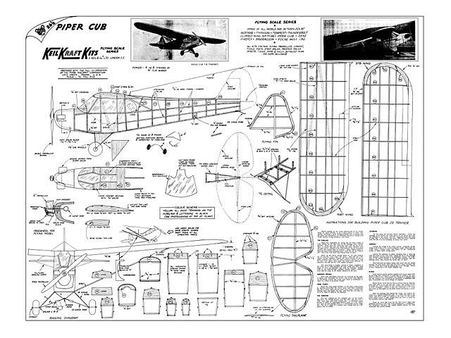 Piper Cub - plan thumbnail image
