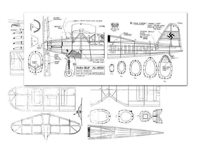 Focke-Wulf Fw 159 - plan thumbnail image