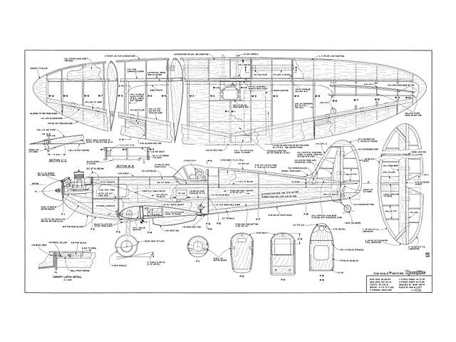 Fun Scale Spitfire - 10965