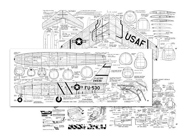 F-86 Sabre - plan thumbnail image