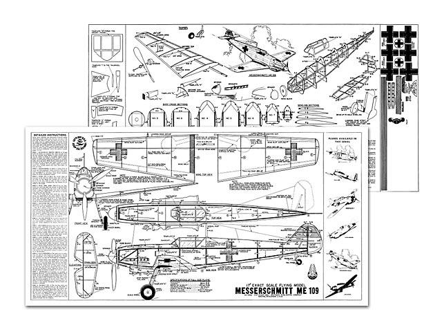 Messerschmitt Me 109 - 11066