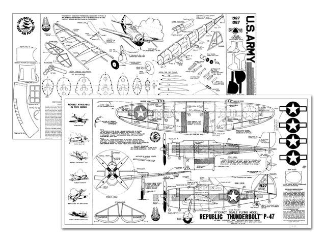 Republic Thunderbolt P-47 - 11070