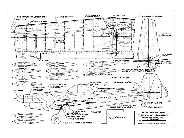 Zlin Akrobat - 11080