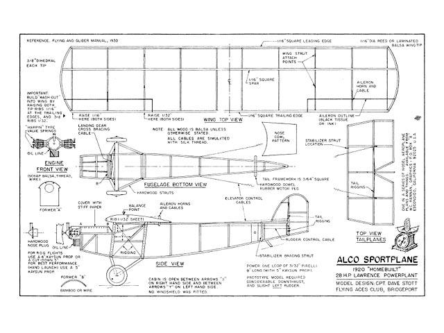 ALCO Sportplane (oz11099) by Dave Stott 1975