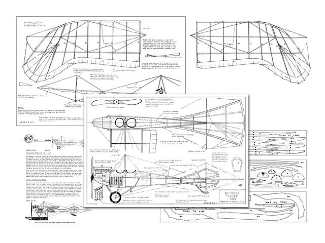 Rumpler Taube (oz11223) by Art Reiners from R/N Models