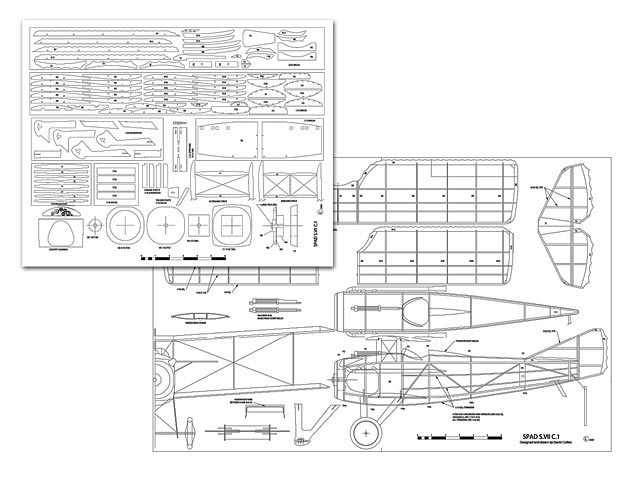 Spad S.VII C.1 - plan thumbnail image