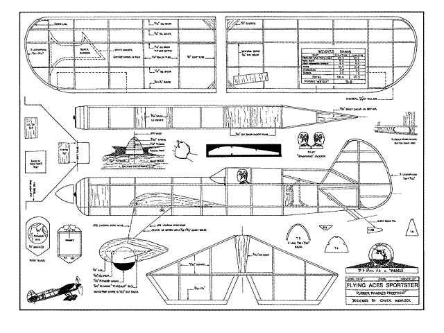 Flying Aces Sportster - plan thumbnail image