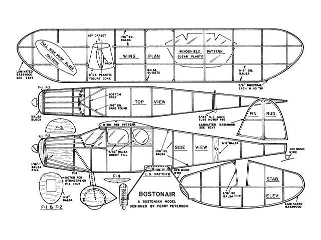 Bostonair (oz11476) by Perry Peterson from Model Aviation 1988