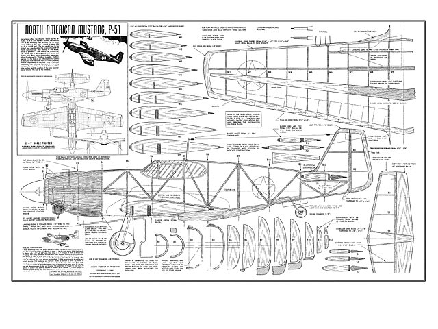North american mustang p 51 plan free download outerzone for Plan 51