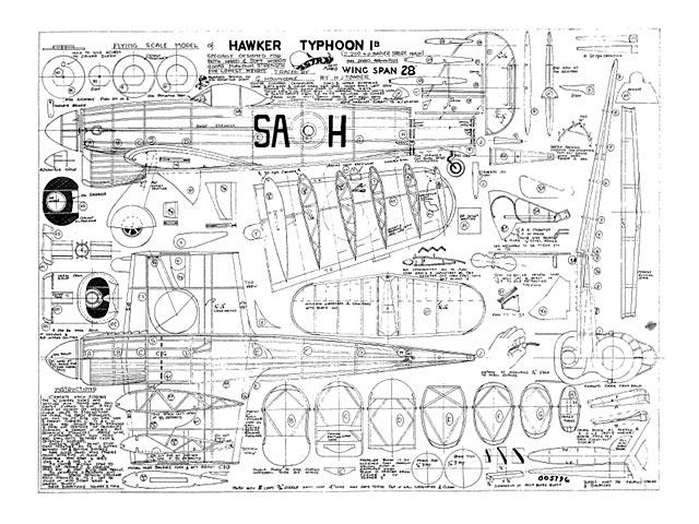 Hawker Typhoon 1B - 11612