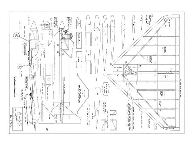 A-4P Skyhawk  (oz11664) by Richard Perry