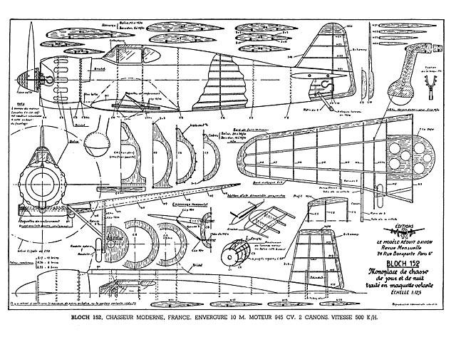 Bloch MB 152 - plan thumbnail image