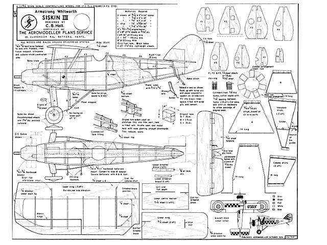Armstrong Whitworth Siskin III - plan thumbnail image