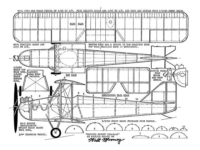 Gloster Gannet (oz11704) by Walt Mooney