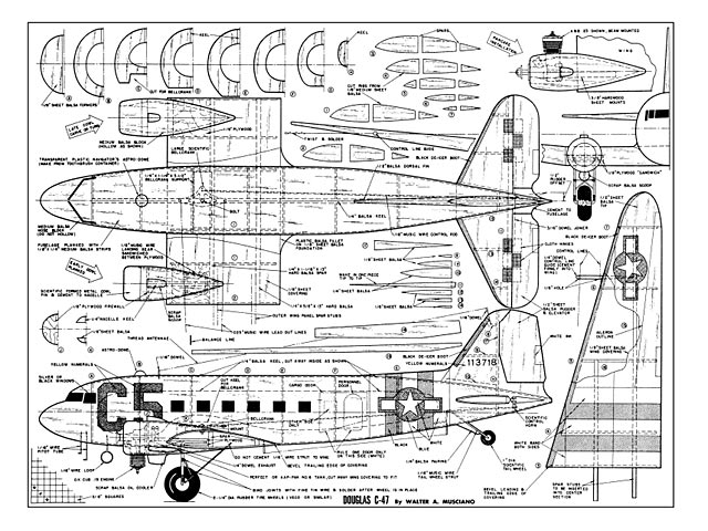 Douglas C 47 Plan Free Download Outerzone