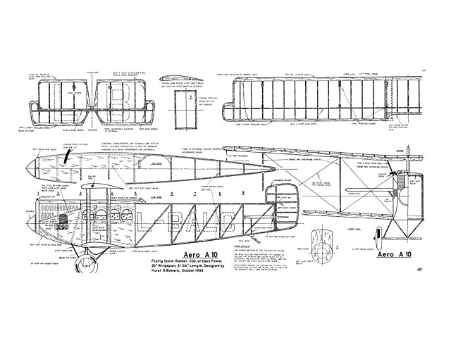 Aero A.10 (oz11821) by Hurst Bowers from MaxFax 1993