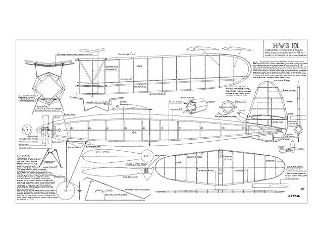 HWB 101 - Harold W Baggott - Luton MAS - 1939 - 44in