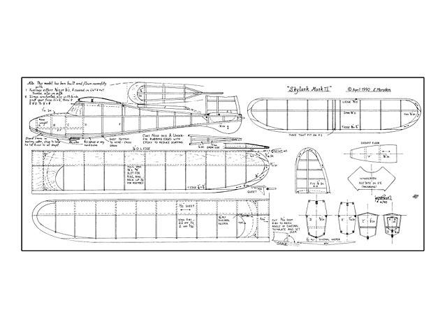 Skylark Mark II (oz11961) by Eric Marsden 1990