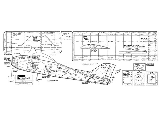 DQA 704 (oz12) by Stu Babcock from RCMplans 1964