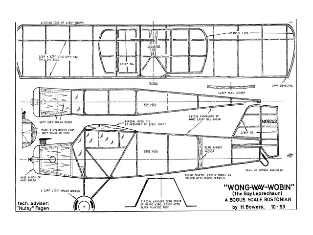 Wong Way Wobin (oz12038) by Hurst Bowers from MaxFax 1993