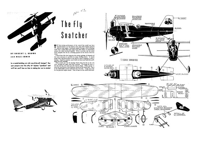 Outerzone : Open listing of free vintage model aircraft ...